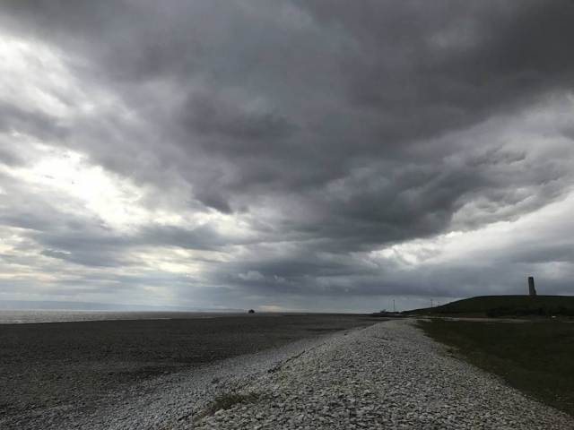 East Aberthaw by the 99 Steps