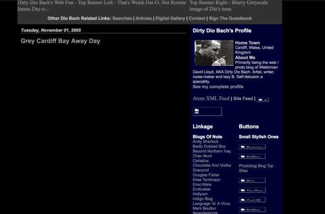 Blog at diobach.com around 2005