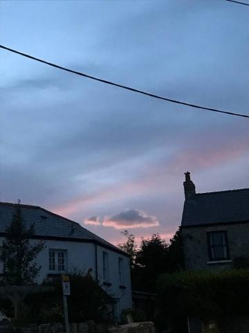 Wine Street Sunset