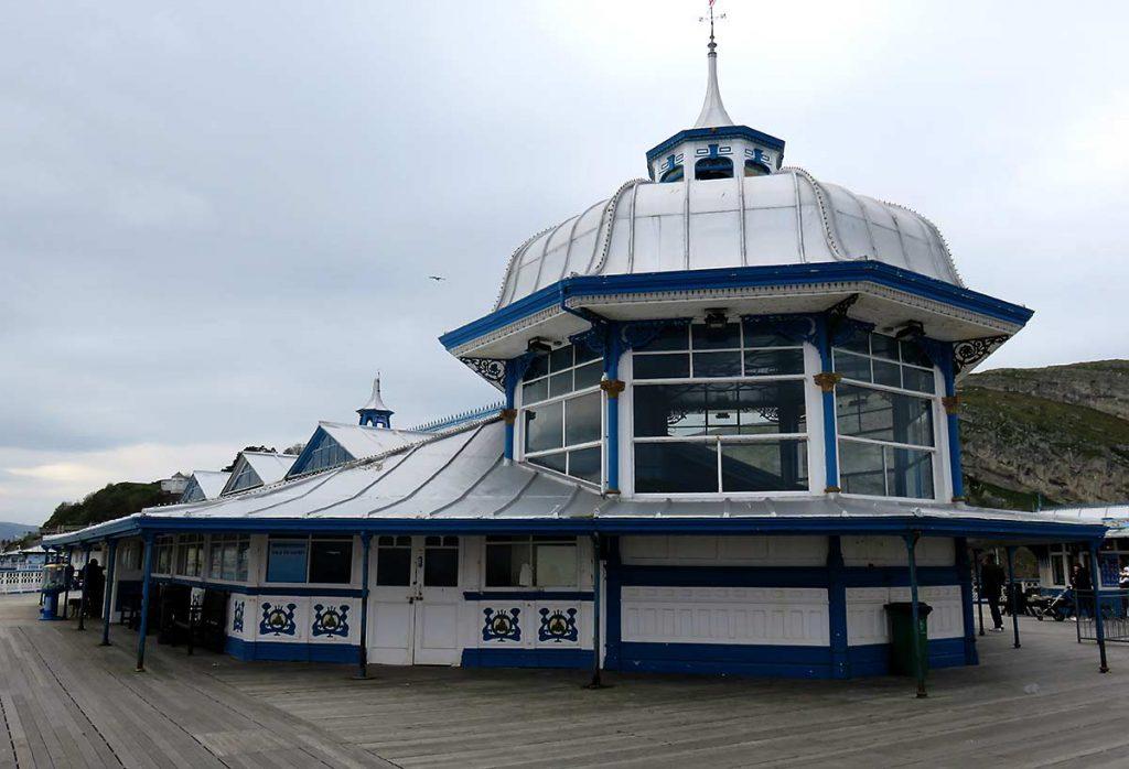 Arcade at the end of Llandundno Pier