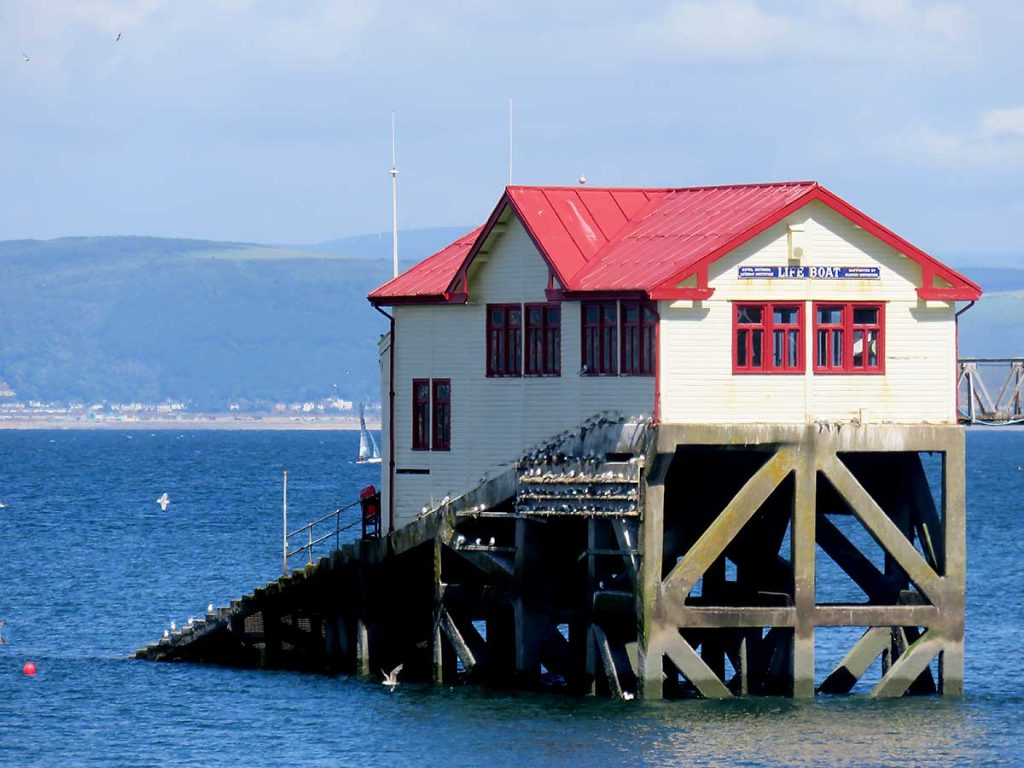 Life Boat station at Mumbles Pier