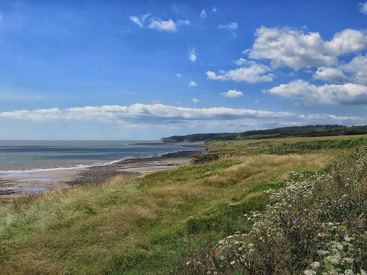 View from the coast path towards St Donats
