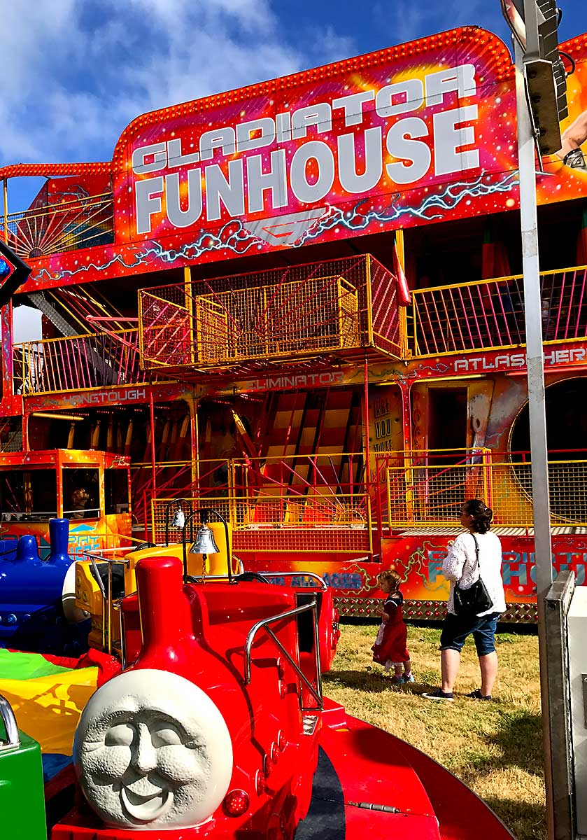 The Gladiator Funhouse - Llantwit Major