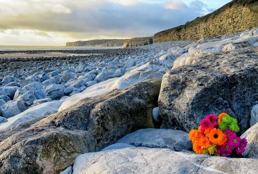 Wintry Llantwit Beach, December 27th 2017