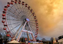 Cardiff's New Year's Eve Fair 2017 Into 2018