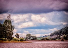 Cloudy Day At Talybont Reservoir