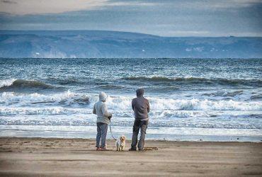 Dunraven Beach And Devon Golden Hour Views